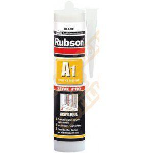 Rubson Mastic A1 acrylique SNJF joint et fissure - Couleur : Ton pierre