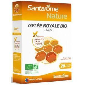 Santarome Gelée royale bio - 20 ampoules buvables