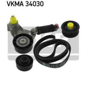 SKF Kit de courroies d'accessoires VKMA34030