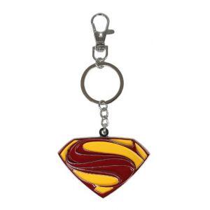 Porte-clés 'Superman' - Logo Metal