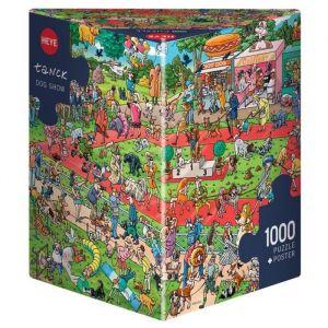 Mercier Dog Show Birgit Tanck - Puzzle 1000 pièces
