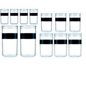 Bodum Bocal 12 bocaux de conservation en plastique
