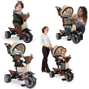 Injusa Tricycle Évolutif Body Max - Chocolat