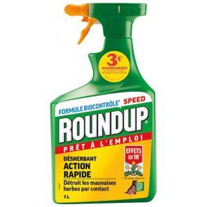 Roundup Désherbant Polyvalent Prêt à l'emploi, 1L