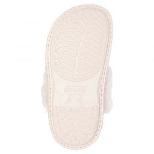 Image de Crocs Chaussons Classic Luxe Slipper - Rose Dust - EU 37-38