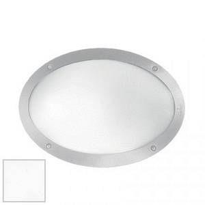 Ideal lux Maddi-1 AP1 - Applique ovale d'extérieur - Blanc