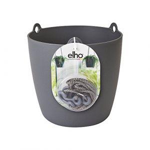 Elho Suspension plastique Diam.18.3 L.18.3 x l.18.3 x H.18 cm anthracite