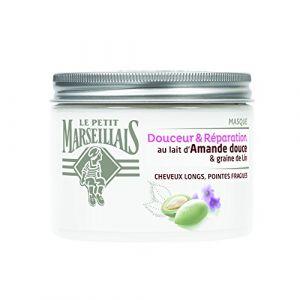 Le Petit Marseillais Douceur & Réparation - Masque au lait d'Amande douce & graine de Lin