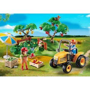 Playmobil 6870 Country - Couple de fermiers avec verger