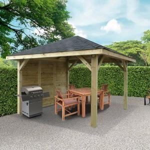 Kiosque de jardin / 7,29 m²