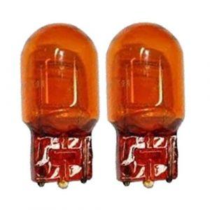 Peraline Ampoule 12V 21W Sans Culot T20 W3X16Q Orange Ambre W21W WY21W