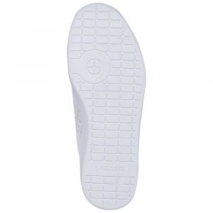 Lacoste Carnaby Evo White 39SFA0010 Chaussures pour Femme 38 - Rose - Blanc, 6M-40 EU