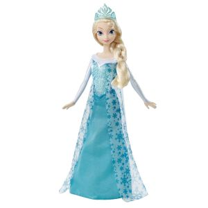 Image de Mattel Poupée La Reine des neiges : Elsa d'Arendelle
