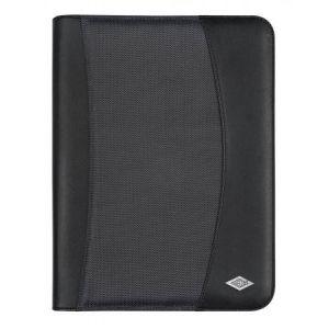 Wedo 58 54301 - Conférencier Elegance, format A4, simili cuir, noir