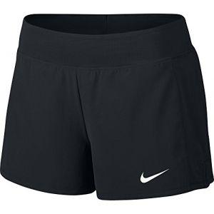Nike Short de tennis Court Flex Pure pour Femme - Noir - Couleur - Taille XL