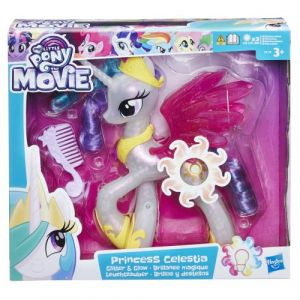 Hasbro My Little Pony Princesse Celestia brillance magique