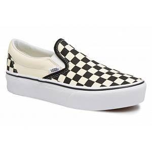 Vans Classic Slip-On Platform chaussures blanc noir à carreaux 41,0 EU