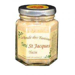 La Ronde des Tartines Tarti St Jacques - Yuzu