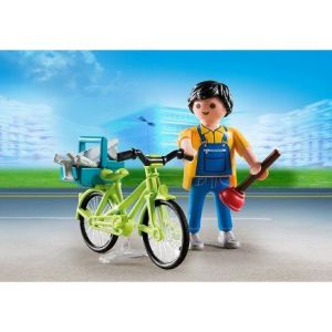 Playmobil 4791 Special Plus - Bricoleur et son vélo