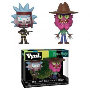 Funko Rick Et Morty Pack 2 Vynl Vinyl Figurines Rick & Scarry Terry 10 Cm