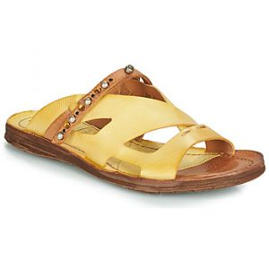 Image de A.S.98 Mules Airstep / RAMOS MULE - Couleur 36,37 - Taille Jaune