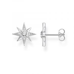 Thomas Sabo Femme clous d'oreilles étoile argent Argent Sterling 925 H2081-051-14