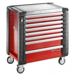 Facom JET.8M4 - Servante d'atelier mobile JET+ 8 tiroirs