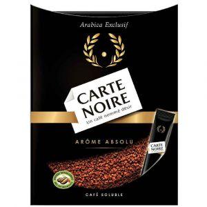 Carte Noire Boîte de 25 sticks de café instantané