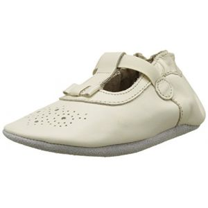 Robeez PRETTY GIRL, shoes bébé fille - Blanc (Blanc Cassé), 21/22 EU (12-18 mois)