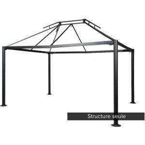 Hesperide Structure en acier pour la tonnelle Napoli (3 x 4 m)