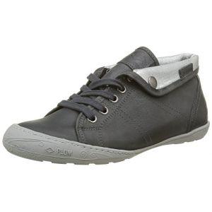 PLDM by Palladium Gaetane EMB, Sneakers Hautes Femmes, Gris (D96 Night Grey/Frost), 36 EU