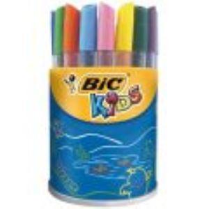 Bic Pot x 24 feutres Mini Kid Couleur pointe moyenne