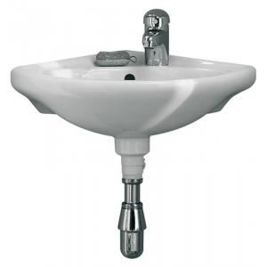 Alterna 10870E000 - Lave-mains CONCERTO d'angle 38x38 cm blanc