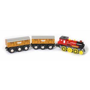 Legler Locomotive avec deux wagons électrique Nick