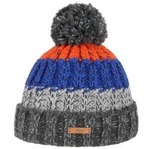 Barts Bonnet en maille gris rouge et bleu, taille tu - 10 18 ans e88d6c8832d