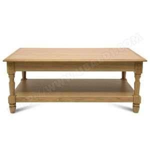 Hellin Table basse Victoria 1 tiroir - bois chêne naturel