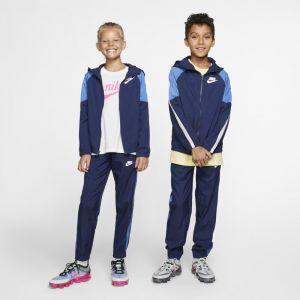 Nike Survêtement tissé Sportswear Garçon plus âgé - Bleu - Taille XS - Male