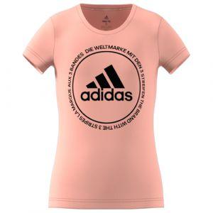 Adidas Prime Fille vêtement running femme Rose - Taille 9/10 ans