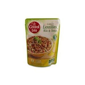 Céréal bio Cuisiné Lentilles, riz et soja bio