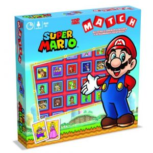 Winning Moves MATCH - Super Mario - Jeu de stratégie