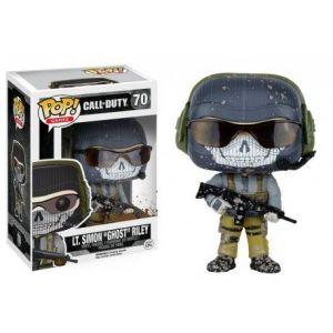 "Funko Figurine Pop! Call Of Duty : Lt. Simon ""ghost"" Riley"