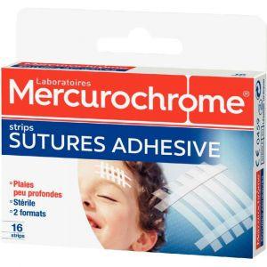 Mercurochrome Pansement suture - Boîte de 16