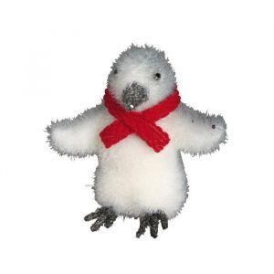 Pingouin avec écharpe