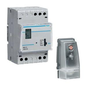 Hager Interrupteur crépusculaire programmable 7J EE171