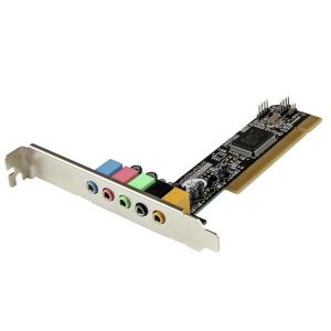 StarTech.com PCISOUND5CH2 - Carte son PCI 5 canaux pour son surround