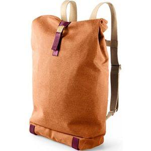 Brooks Sac à dos 26L Pickwick Day Pack - Taille L - Brun Bec d'oie - Sac à Dos Brun / orange - Coton - Compartiment principal spacieux adapté pour un 4 dossiers.