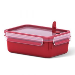 Tefal K3102212 - Masterseal Micro - Boîte spécial micro-ondes - 1 L - Rouge