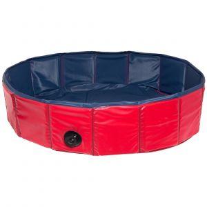 Karlie Doggy Pool / 31808 - Piscine pour chien - Rouge/bleu - 160 cm