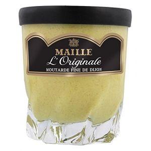 Maille Moutarde Fine de Dijon l'Originale Forte - Verre à Whisky de 280 g