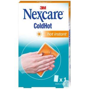 3M Nexcare ColdHot Hot Instant Chaufferette Instantanée 8cm x 13cm